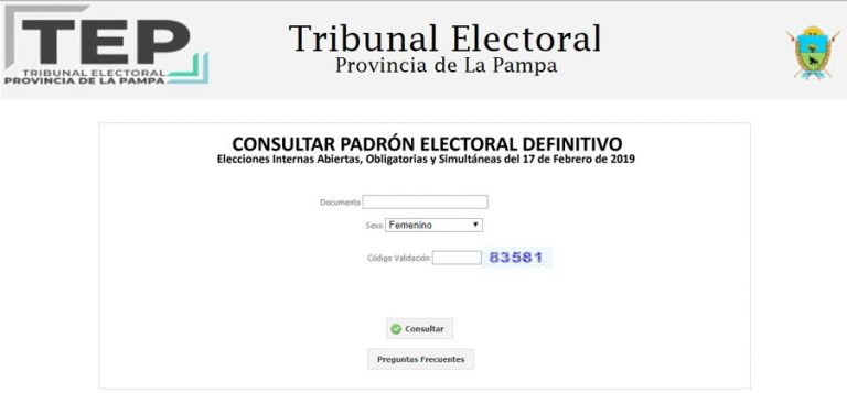 Padron La Pampa