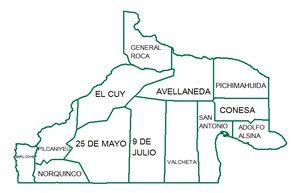 mapa Rio Negro